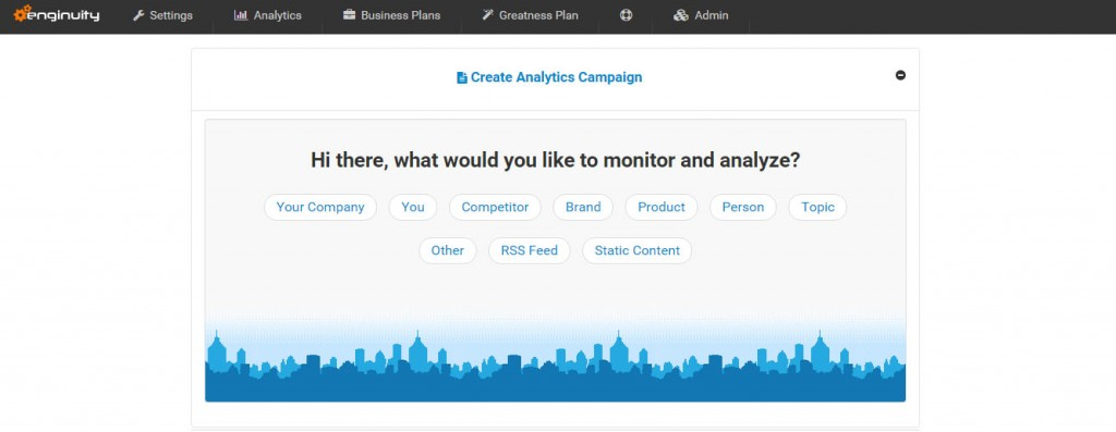 Enginuity Analytics Media Monitoring