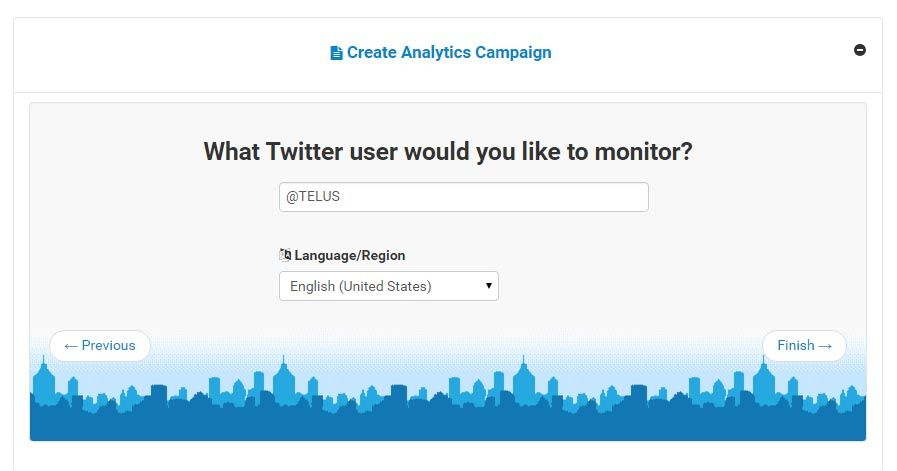 Monitor Sentiment of Twitter Accounts