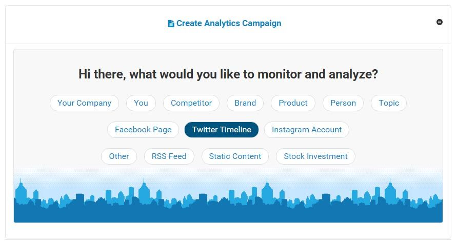 Social Media Account Sentiment Monitoring